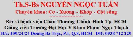 Bác Sĩ Nguyễn Ngọc Tuấn